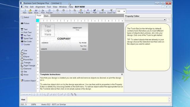 Download business card designer plus free download business card designer plus free reheart Images