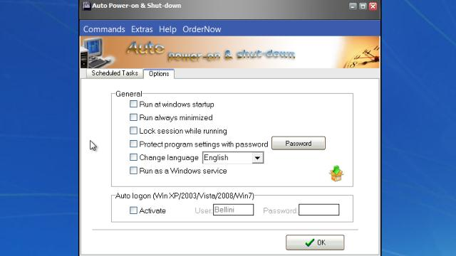 Auto Power-on and Shut-down 2.83 Serial Crack