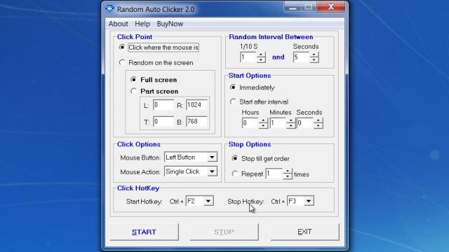 Download Random Auto Clicker Free