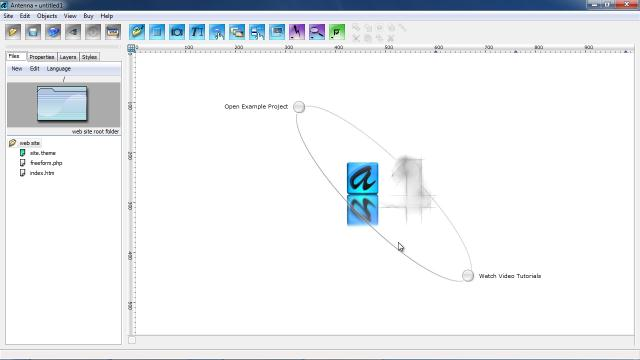 Download Antenna Web Design Studio Free