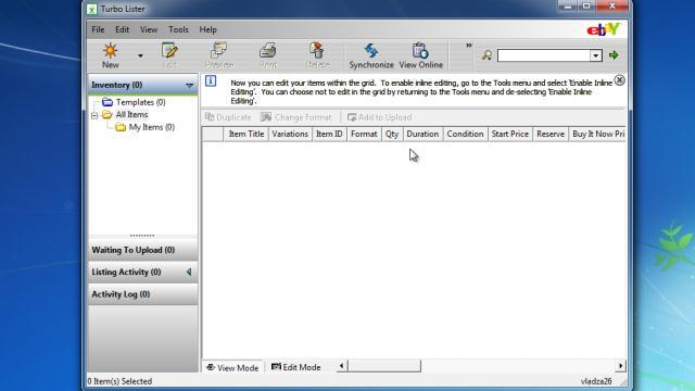 Download eBay Turbo Lister Free
