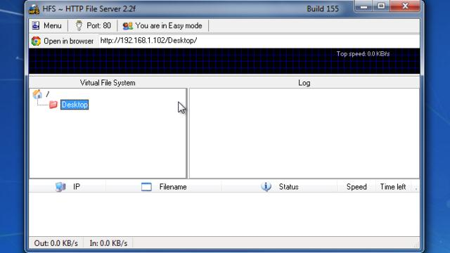 hfs http file server manual