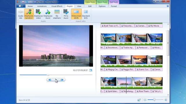 Windows live movie maker 2012 timeline view for View maker
