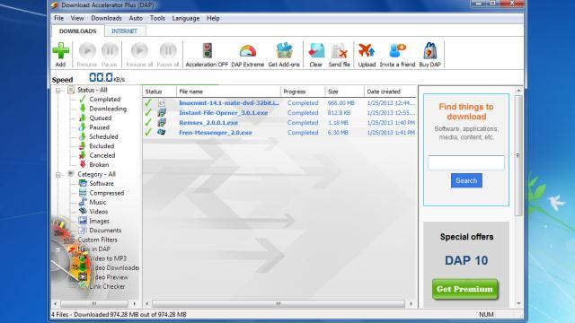 download accelerator plus (dap) extension