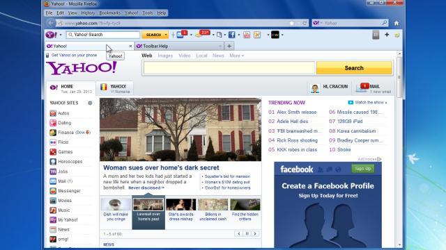 yahoo toolbar 8.1