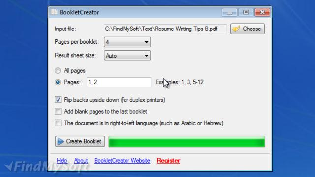 download booklet creator crack
