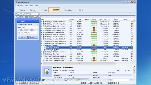 Download morpheus music (free) for windows.