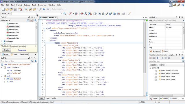Download oXygen XML Editor Free