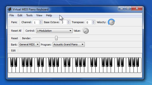 Download Virtual MIDI Piano Keyboard Free