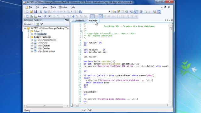 Download Universal SQL Editor Free