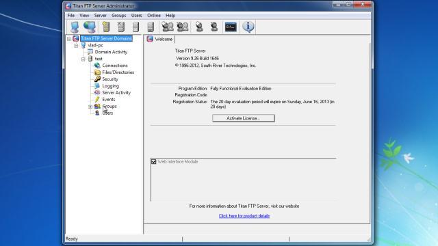 Download Titan FTP Server Free