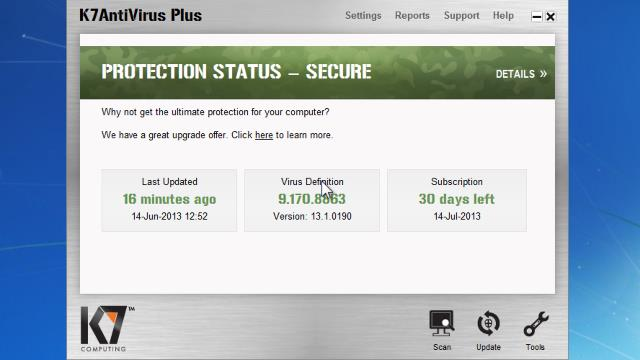 K7 total security plus update free version for windows 7/10 | windows.