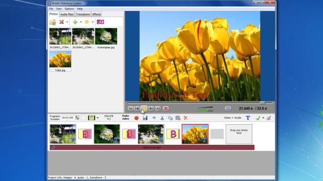 bolide slideshow creator