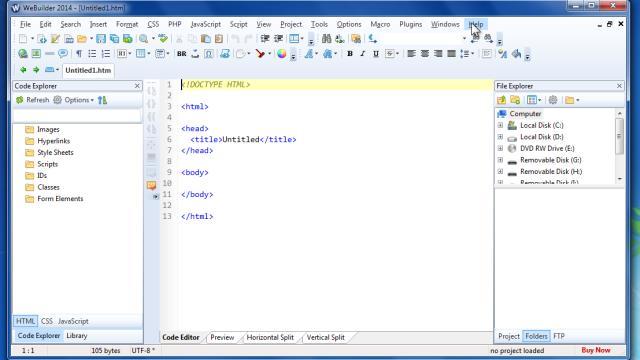 blumentals web builder portable