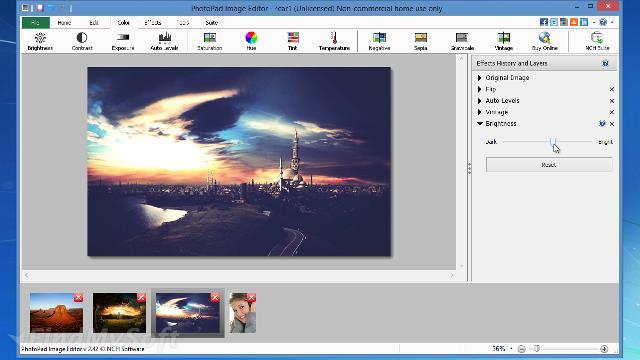 Download PhotoPad Image Editor Free