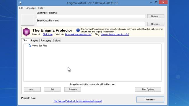 enigma virtual box how to use