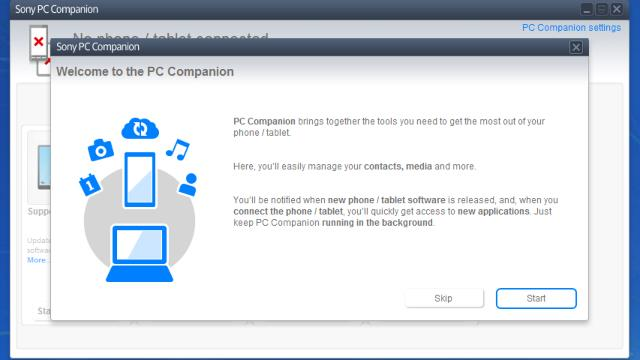 Download Sony PC Companion Free