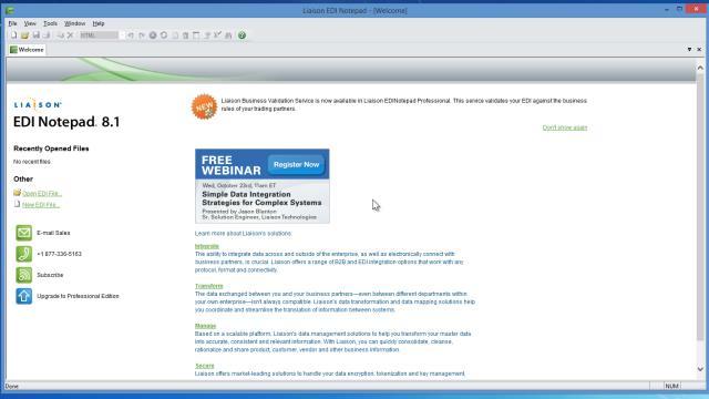 Download EDI Notepad Free