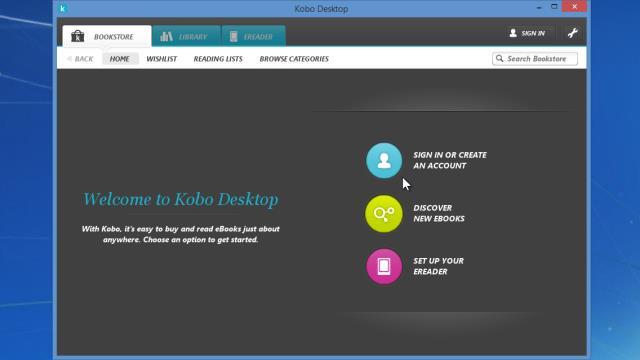 logiciel gratuit kobo desktop