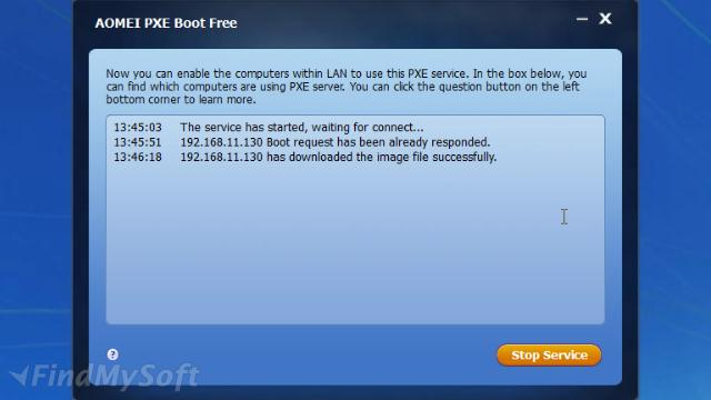 Download AOMEI PXE Boot Free