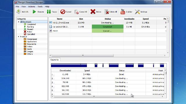 Flareget download manager