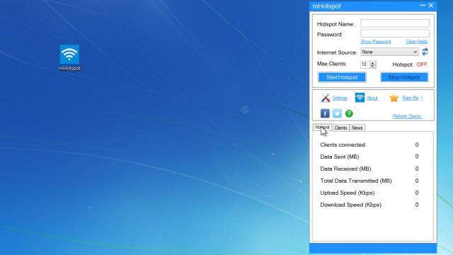 Download mhotspot 7. 8. 4.