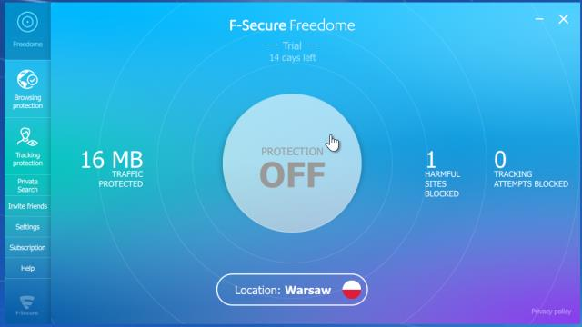 Free Dome download f-secure freedome free