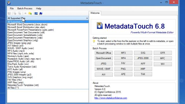 Download MetadataTouch Free