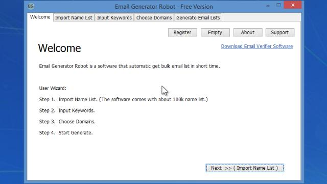 Download Email Generator Robot Free