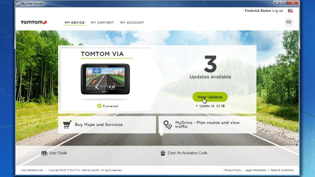 mydrive connect tomtom
