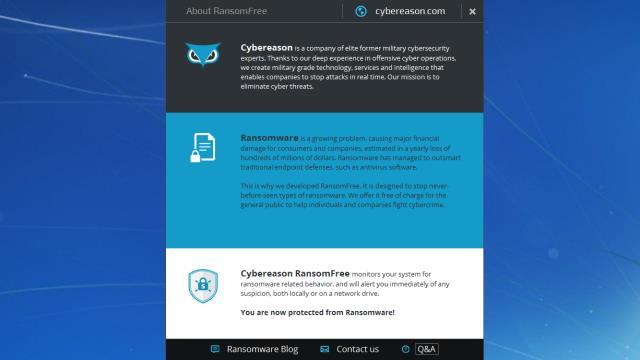 Download Cybereason RansomFree Free