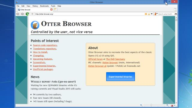 Download Otter Browser Free