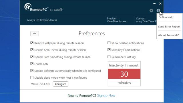 Download RemotePC Free