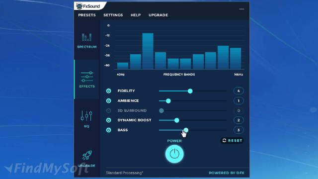 fx sound enhancer best settings
