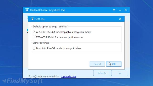 Download Hasleo BitLocker Anywhere Free