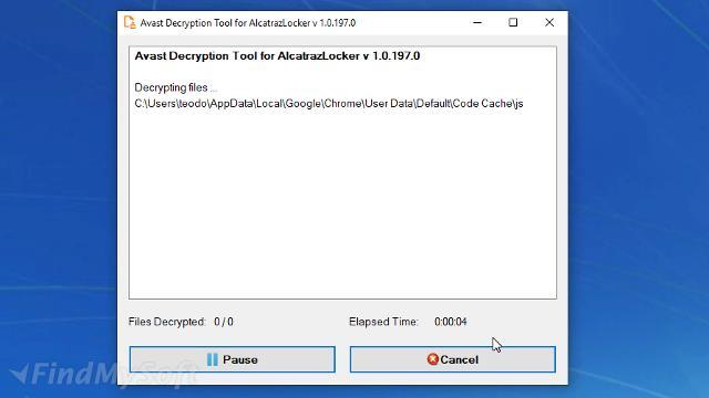 Download Avast Ransomware Decryption Tool for Alcatraz