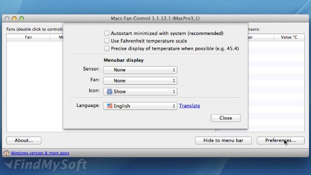 Download Macs Fan Control(Mac) Free